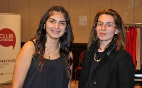 Javiera Perez y Vitalia Rumel