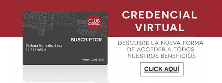slider credencial virtual