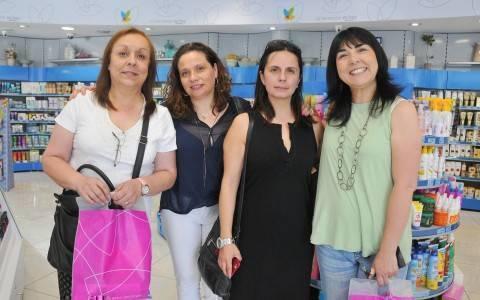 Andrea Otero, Isabel Irigoyen, Tania Ville y Mehilin Velasquez