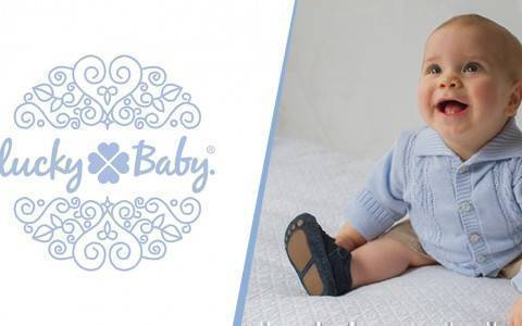 banner lucky baby