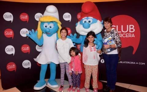 Beatriz Avilés, Florencia Aviles, Renata Avilés y Marcela Sandoval
