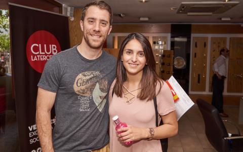Juan Ignacio Velaz y Paola Pardo