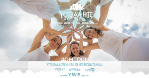 Yoga White Experience #OMTOUR - Afiches - Incluye  - Banner (3)