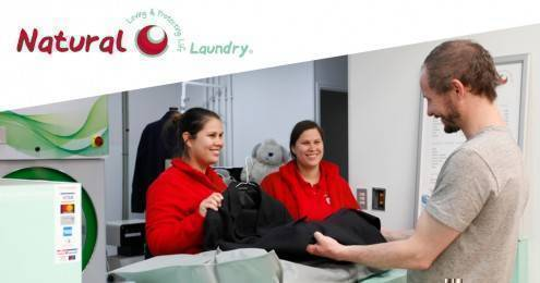 NATURAL LAUNDRY BANNER