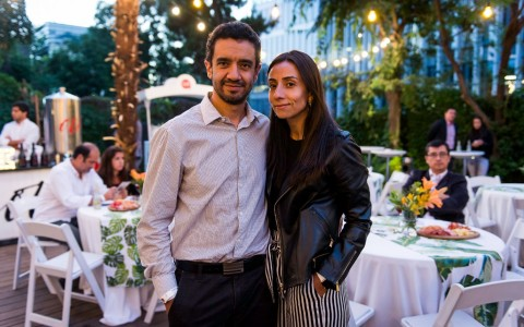 Fernando Guzmán y Claudia Heredia
