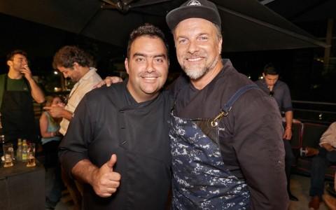Nicolás Carrasco y Bernardo Borgeat