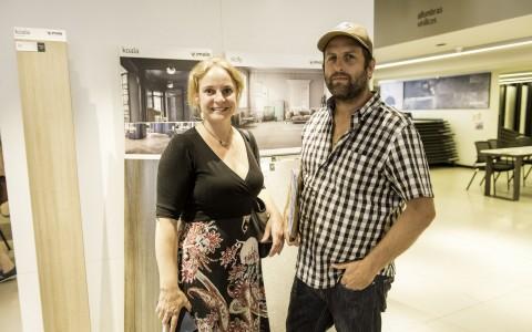 Carolina Fernández y Javier Zuleta