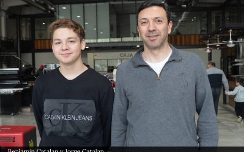Benjamín Catalán y Jorge Catalán