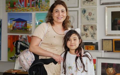 Erika Parra y Valeria Mella