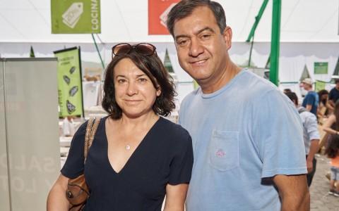 Jeanette Fuentes y Luis Zúñiga