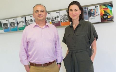 Rodrigo Beraud y Ana Buzzoni