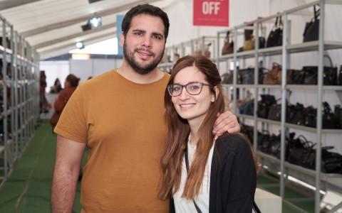Matías Rodríguez y Ana Julia Arias